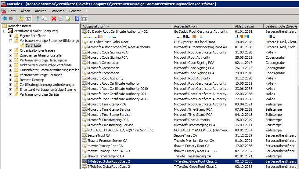 Exchange Error 454 475 Certificate Validation Failure Ber Ionos